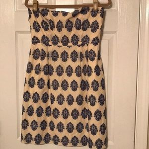 J Crew Strapless Dress